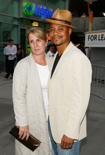 Cuba Gooding Jr. and Sara Kapfer