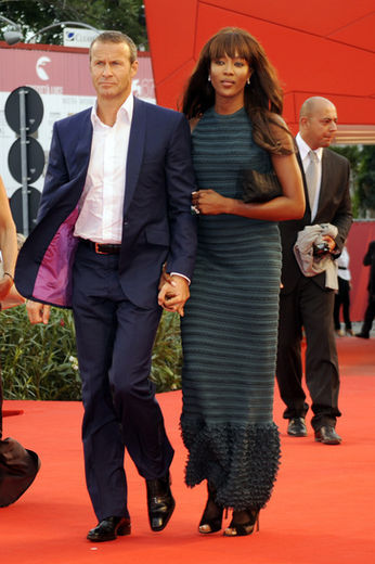 Naomi Campbell and Vladislav Doronin in Venice