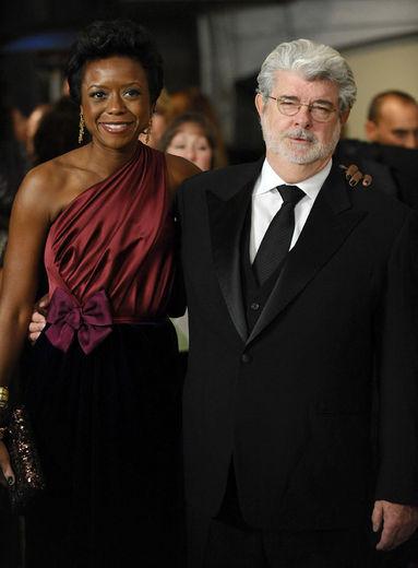 George Lucas & Mellody Hobson