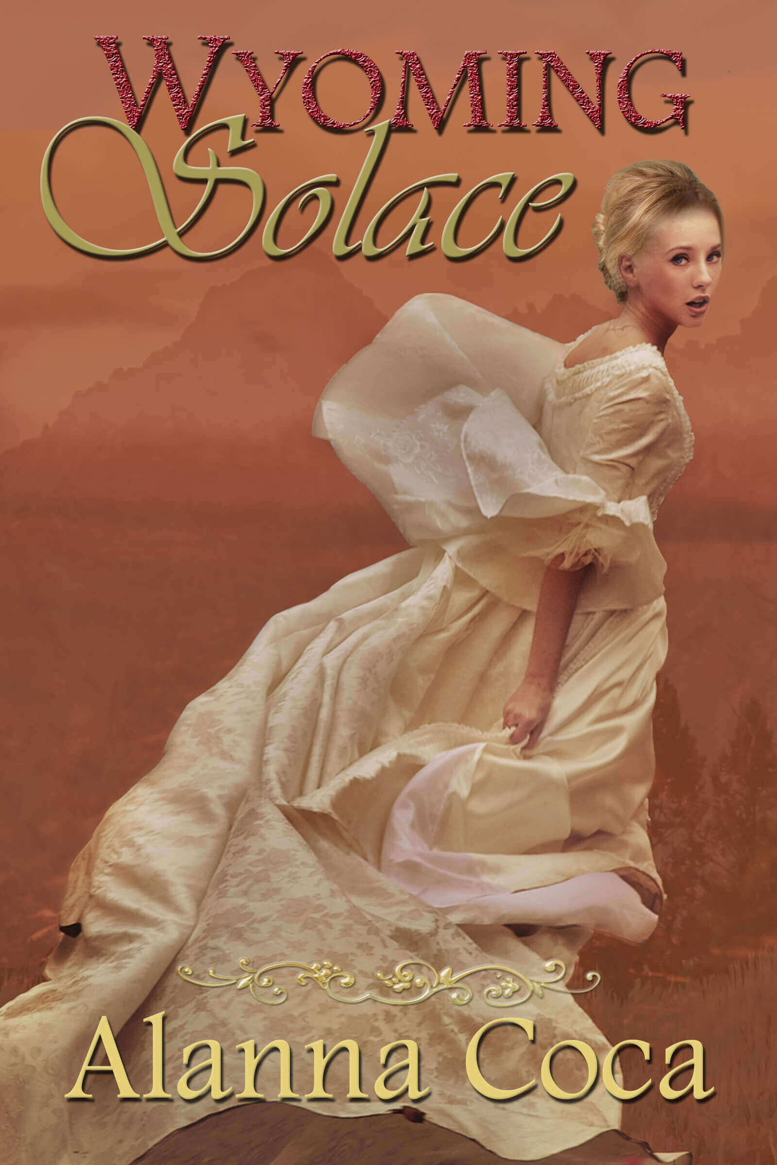 Wyoming Solace by Alanna Coca book cover